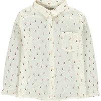 Flower Crepon Shirt