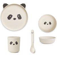 Panda Bamboo Cutlery Set - 4 Piece Set