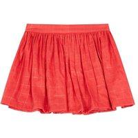 Mignonne Lurex Checked Skirt