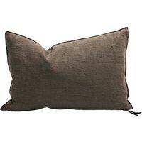 Verse Visa Crinkled Washed Linen Cushion