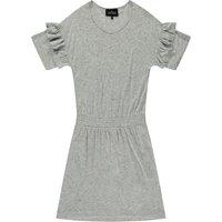 New Blos Ruffled Linen Dress
