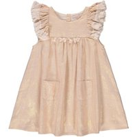 Acapulo Pompom Ruffled Iridescent Dress