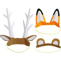 Paper Animal Ears - Set of 8