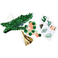 Crocodile Pinata - Set of 3