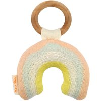 Organic Cotton Rainbow Rattle