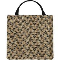 Woven Linen Shopper