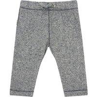 'Matt Organic Cotton Contrasting Seam Harem Trousers