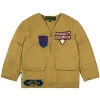Patch Zip-Up Jacket