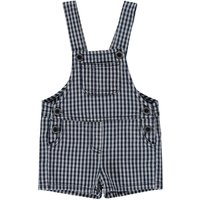 Checked Dungarees