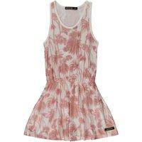 Summer Palm Tree Jersey Dress