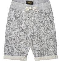Grounded Simpson Fleece Shorts