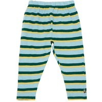 'Organic Cotton Striped Harem Trousers