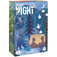 Night and Day in the Woods Double-Sided Puzzle