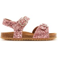 Two Con Me - Glitter Double Buckle Sandals