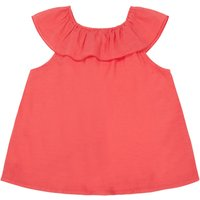 Legerete Checked Ruffle Top