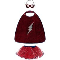 Super Hero Costume - Tutu, Cape and Mask