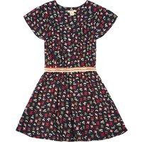 Alies Printed Loose Dress