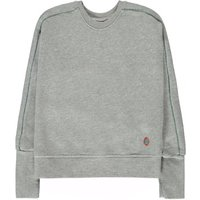 Abe81 Lurex Trim Loose Sweatshirt