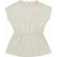 Pomme D'Amour Embroidered Heart Stripe Dress