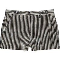 Sherif Striped Satin Shorts