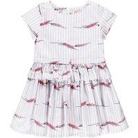 Hannah Striped Ruffle Dress