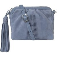 Adrienne Mini Suede Shoulder Bag