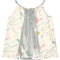 Jem Lurex Futurist Retro Top