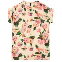 Astride Floral Shirt Dress