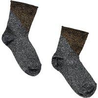 Silex Lurex Two-Tone Cupro Socks
