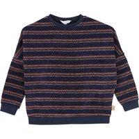 Jersey Striped Lurex Sweatshirt