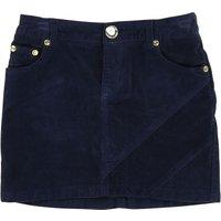 Apple Patches Velvet Skirt