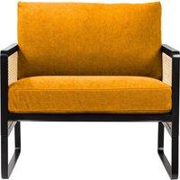 Caned Armchair - Fabric
