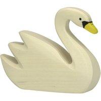 Wooden Swan Figurine