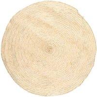 Palm Leaf Round Rug D150cm
