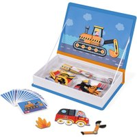 Race Car Magnetic Book - 50 magnets