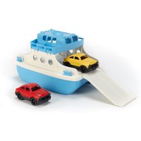 Ferry with two cars
