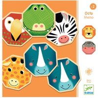 Octo Memory Animals Memory Game