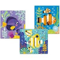 Primo poisson Puzzle Game - Set of 3