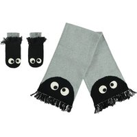 Snappy + Spook Scarf and Mittens Set