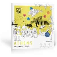 Athens City Tour Coloring Book and Stickers