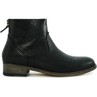 6800 Python Leather Boots