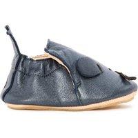 Blublu Iridiscent Leather Slippers