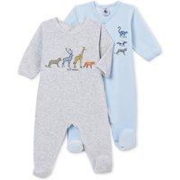 Trema Velvet Footed Pyjamas - Lot of 2