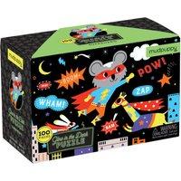 Superhero Glow in the Dark Puzzle - 100 Pieces - 5+ Years