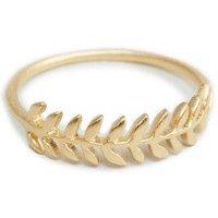 Precious Talisman Amber Ring