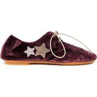 Velvet Derby Shoes