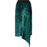 Tiersen Velvet Skirt