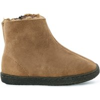 Fur Lined Zipped Boots