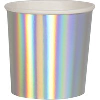 Holographic Small Cups - Set of 8