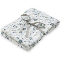 Pressed Leaves Organic Cotton Swaddle